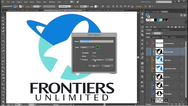 Preparing your logo for vector-based shading: Creating and Adapting a Logo