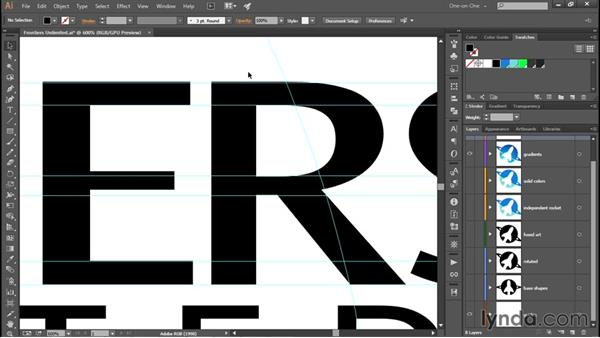 Exporting your logo as a PNG graphic: Creating and Adapting a Logo