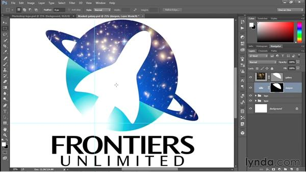 Better integrating the photo into the logo: Creating and Adapting a Logo