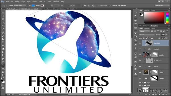 Reestablishing the original color scheme: Creating and Adapting a Logo