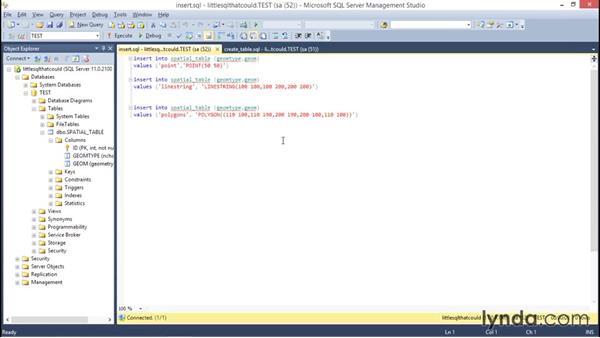 Understanding SQL Server spatial geometry: Using SQL Server Spatial with AutoCAD Map 3D