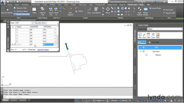 Drawing new features: Using SQL Server Spatial with AutoCAD Map 3D
