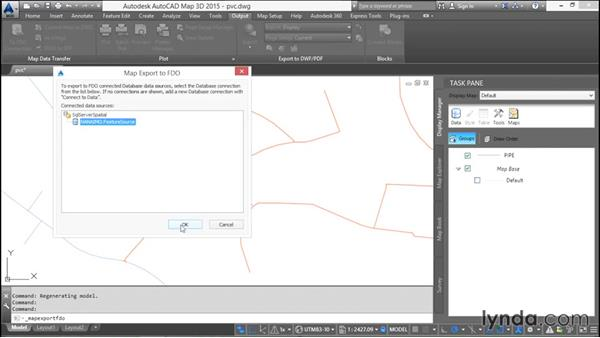 Loading existing DWG data: Using SQL Server Spatial with AutoCAD Map 3D