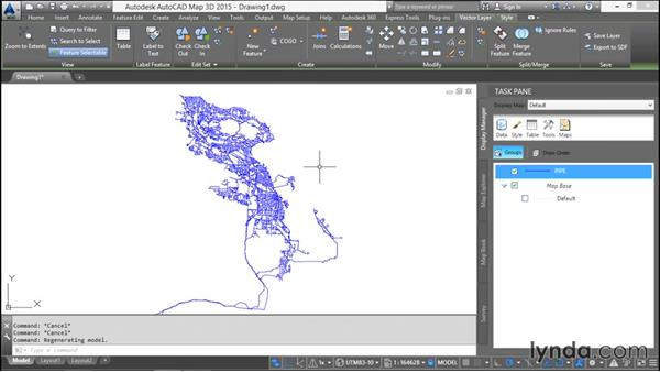 Exporting layers to SDF: Using SQL Server Spatial with AutoCAD Map 3D