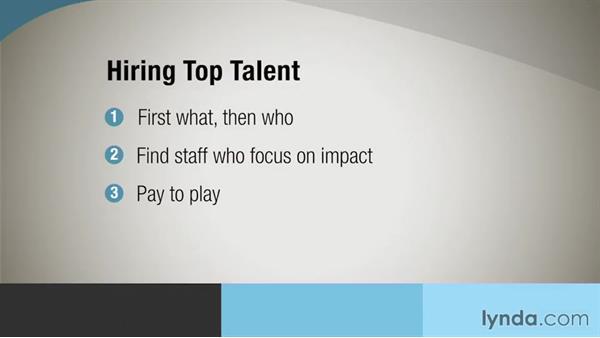 Hiring staff: Nonprofit Fundamentals