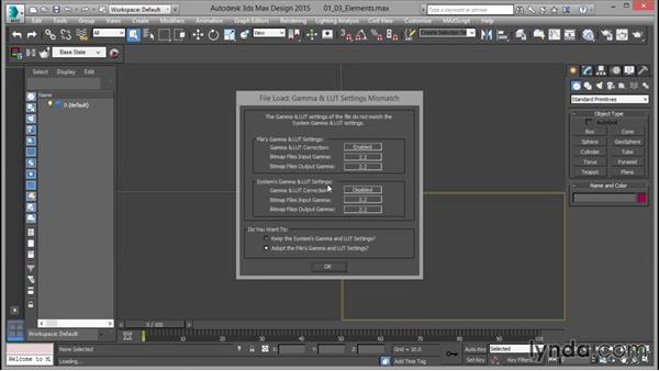 Gamma handling: Rendering for Composites inside 3ds Max