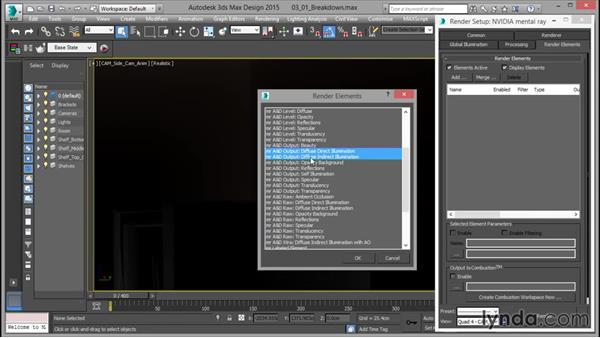 Breaking down the shot: Rendering for Composites inside 3ds Max