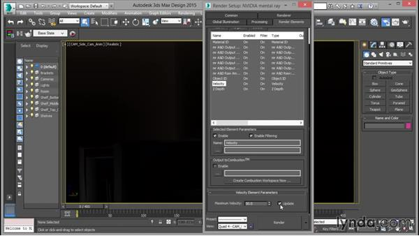 Setting element parameters: Rendering for Composites inside 3ds Max