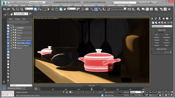 Creating a custom matte pass: Rendering for Composites inside 3ds Max