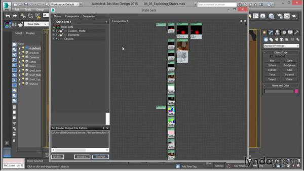 Exploring the State Sets Compositor view: Rendering for Composites inside 3ds Max