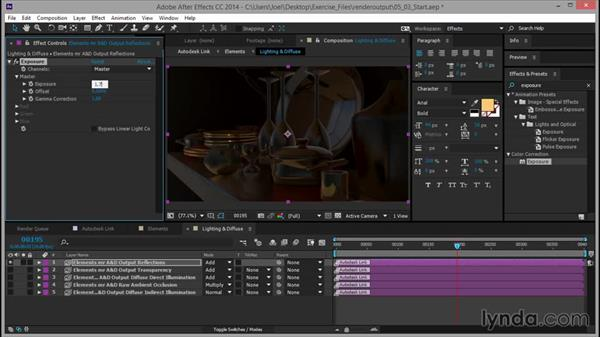 Tweaking the reflections: Rendering for Composites inside 3ds Max