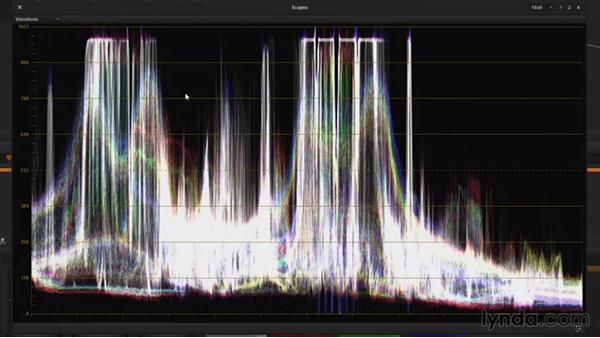 Understanding graticules and the trace: DaVinci Resolve Guru: Mastering Scopes