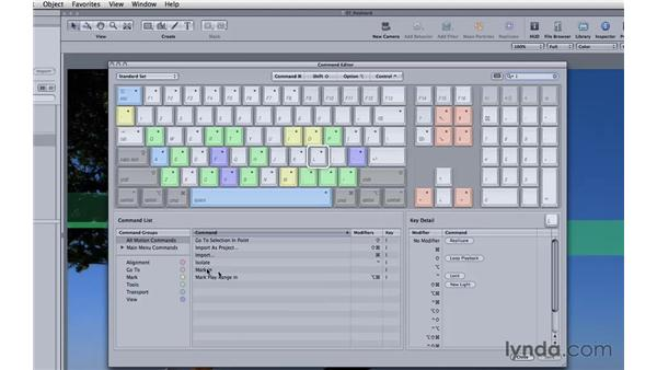 Customizing your keyboard: Motion 3 Essential Training