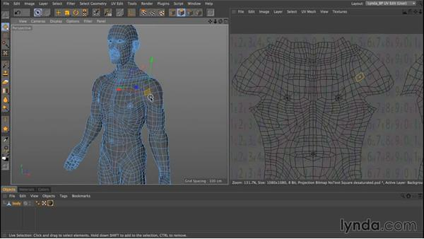 What is a UV map?: Up and Running with Bodypaint in CINEMA 4D