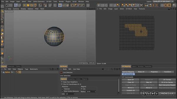 Editing UV Maps: Up and Running with Bodypaint in CINEMA 4D
