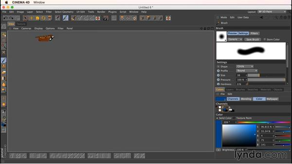 Patching seams: Up and Running with Bodypaint in CINEMA 4D
