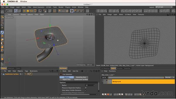 """Use """"divide and conquer"""" to simplify your unwrapping workflow: Up and Running with Bodypaint in CINEMA 4D"""