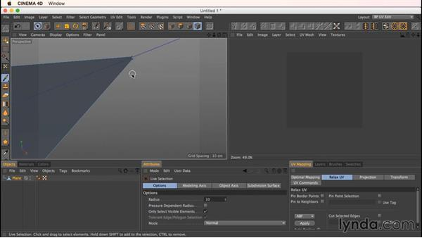 """The """"degenerate polygons"""" error message and how to avoid it: Up and Running with Bodypaint in CINEMA 4D"""