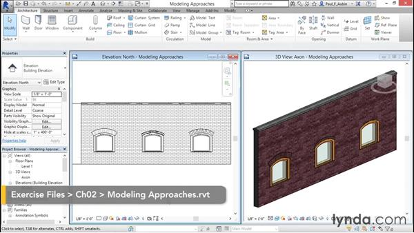 Understanding approaches to modeling: Rendering with Revit