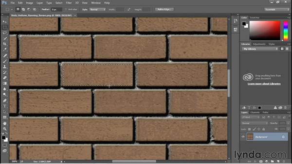 Editing a material texture: Rendering with Revit