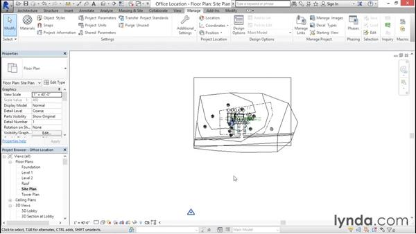 Setting your location: Rendering with Revit