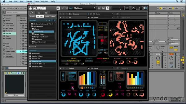 REAKTOR as a drum machine: Up and Running with REAKTOR