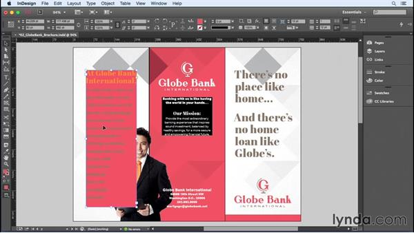 Applying color swatches: InDesign Insider Training: Color