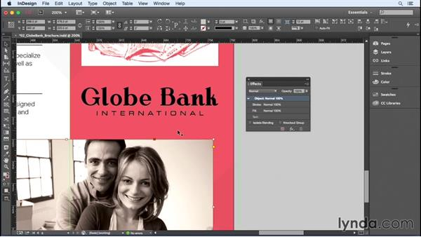 Applying colors to images: InDesign Insider Training: Color