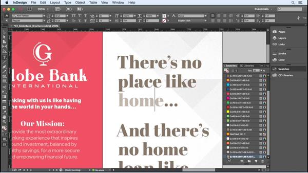 Adding tint swatches: InDesign Insider Training: Color