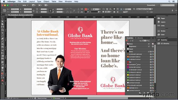 Managing your swatches: InDesign Insider Training: Color