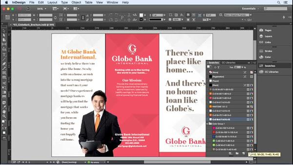 Deleting and merging color swatches: InDesign Insider Training: Color