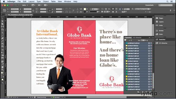 Creating process color groups: InDesign Insider Training: Color