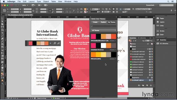 Accessing Adobe Color from within InDesign: InDesign Insider Training: Color