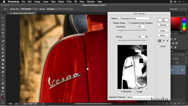 Using layer masks and adjustment layers: Photoshop CC Adjustment Layer and Blend Mode Workshop