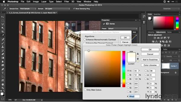 Improving contrast with Auto Curves: Photoshop CC Adjustment Layer and Blend Mode Workshop
