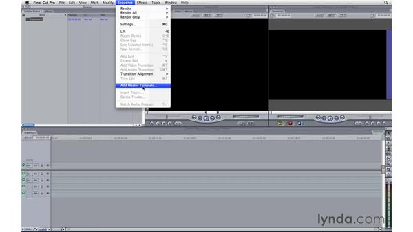 Creating templates for Final Cut Pro: Motion 3 Essential Training