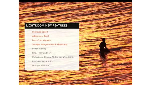 New features in Lightroom 2: Lightroom 2 Essential Training