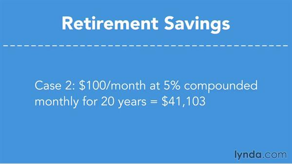Saving for retirement: Using the Time Value of Money to Make Financial Decisions