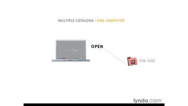 Using multiple catalogs to optimize performance: Lightroom 2 Essential Training