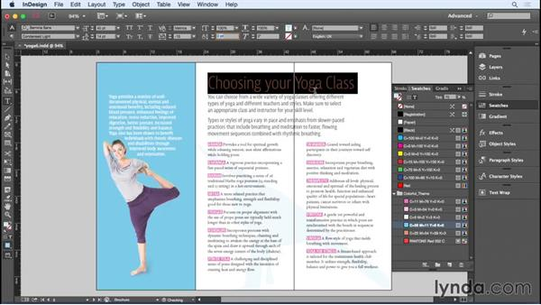 Preparing the trifold brochure for print: Designing a Brochure