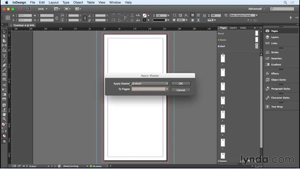 Setting up a parallel-fold document: Designing a Brochure