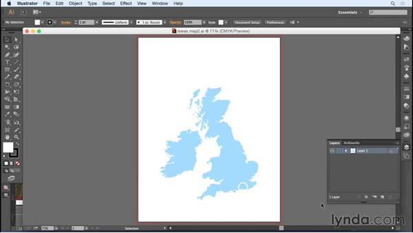 Preparing the file for spot varnish: Designing a Brochure