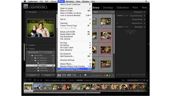 Flagging, rating, and labeling pt. 2: Lightroom 2 Essential Training