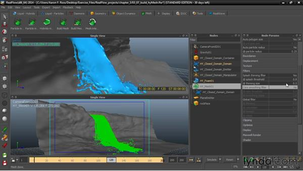 Building a HyMesh: Up and Running with RealFlow