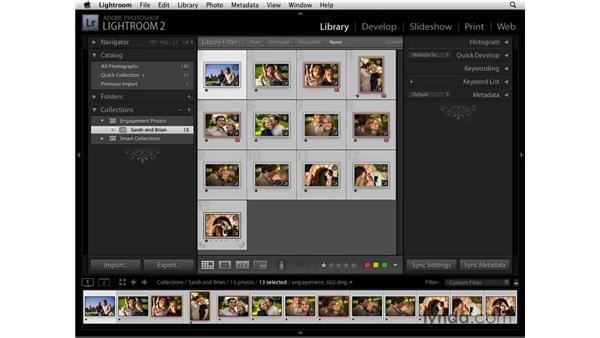 Collections: Lightroom 2 Essential Training