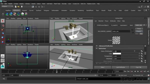Rendering with mental ray: Up and Running with RealFlow