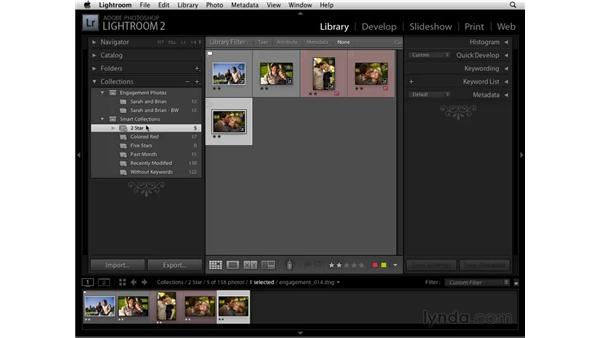 Smart Collections: Lightroom 2 Essential Training