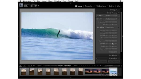 Editing multiple images in Photoshop as layers: Lightroom 2 Essential Training