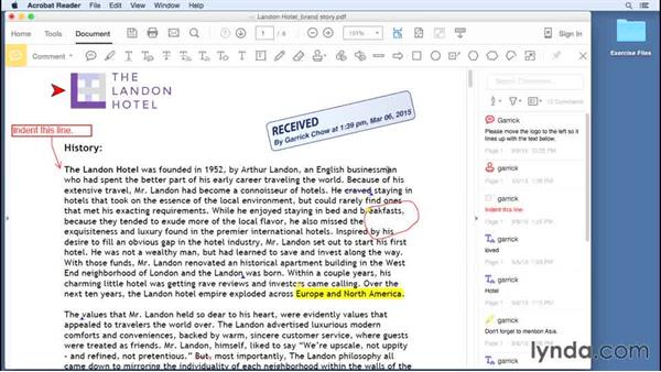 Stamping documents: Up and Running with Acrobat Reader DC