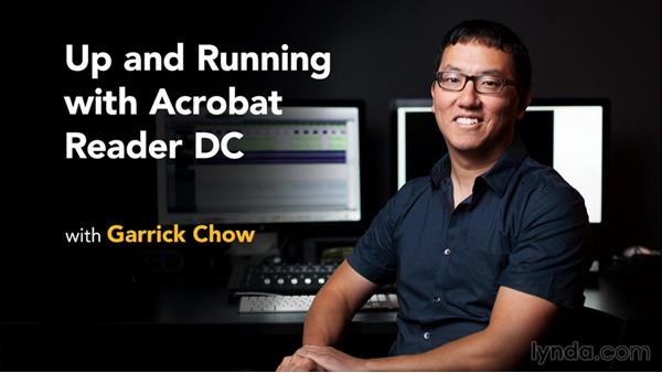What's next: Up and Running with Acrobat Reader DC